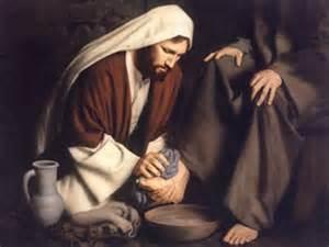 иисус моет ноги